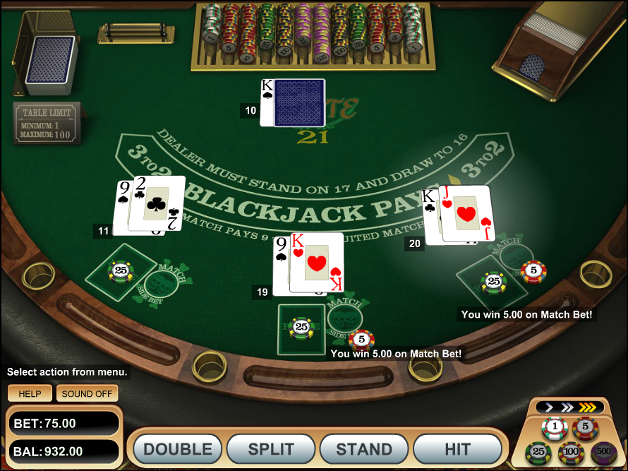 Blackjack in casino rules